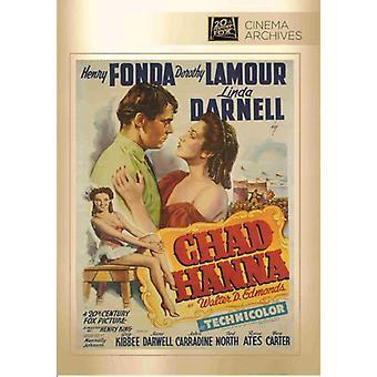 Importação de EUA Chad Hanna [DVD]