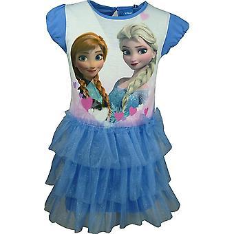 Disney Frozen meisjes mooie korte mouwen jurk