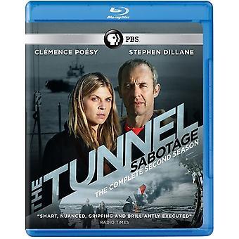 Tunnelen: Sabotasje - sesong 2 [Blu-ray] USA importerer