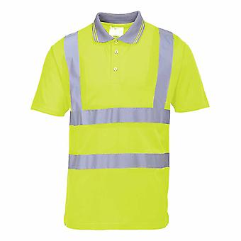 Portwest - Hi-Vis Safety Workwear Short Sleeve Polo