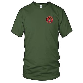 USMC Marines 1st Force Recon Co FMF PAC - Military Insignia Vietnam War Embroidered Patch - Mens T Shirt