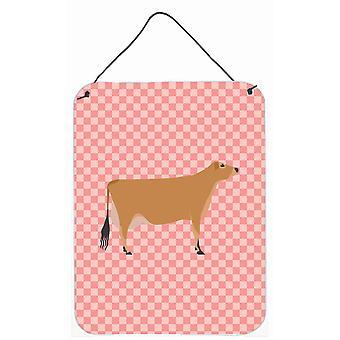 Jersey vache rose cocher mur ou une porte suspendue imprime