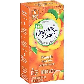 Crystal Light On The Go Peach Iced Tea Drink Mix