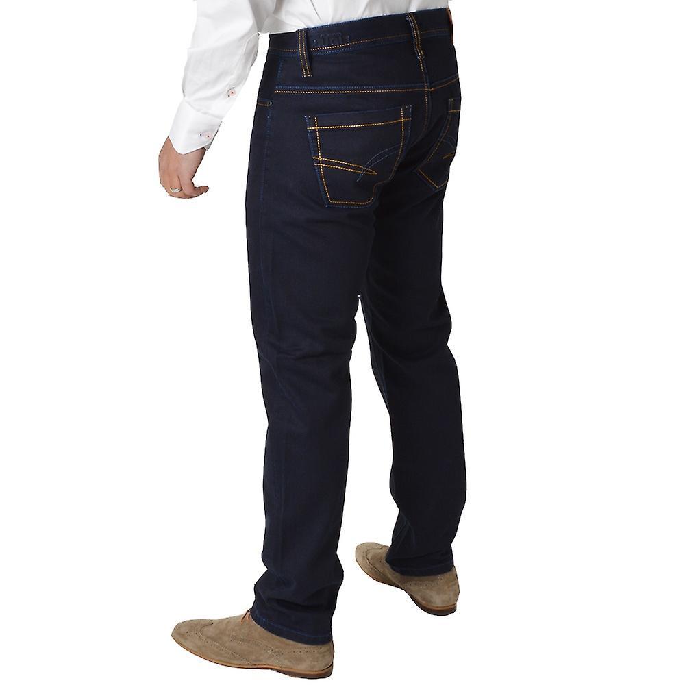 Claudio Lugli Rinse Wash Indigo Mens Jeans