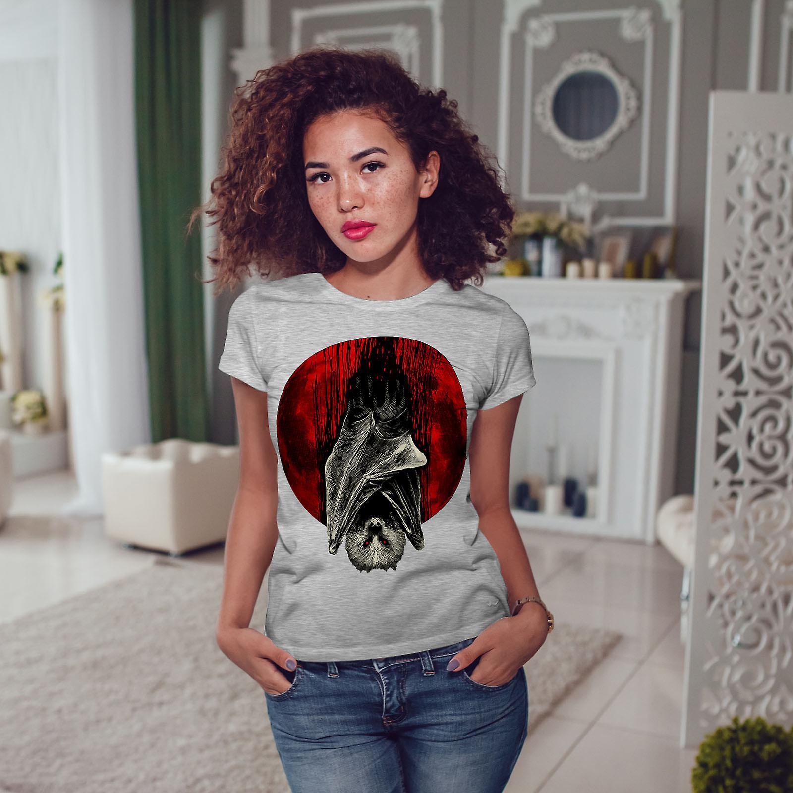 Sang de lune Vampire GreyT-chemise femme   Wellcoda
