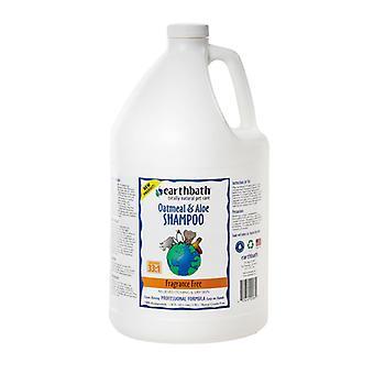 Earthbath Oatmeal & Aloe Fragrance Free Pet Shampoo - Relieves Itching