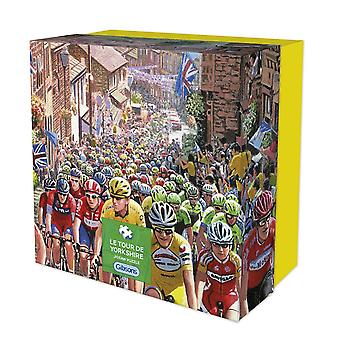 Gibsons Le Tour de Yorkshire Jigsaw Puzzle in Gift Box (500 pieces)