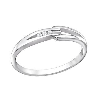 Band - 925 Sterling Silver Jewelled ringar - W26339x