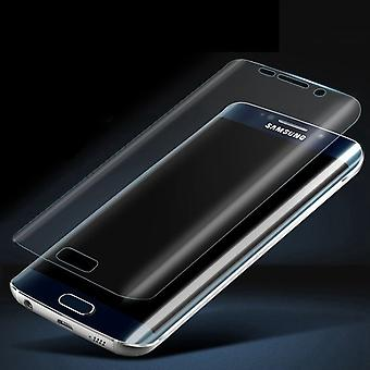 Samsung Galaxy S7 Edge glazen screenprotecor Full cover - transparant - 9h - 0,3 mm
