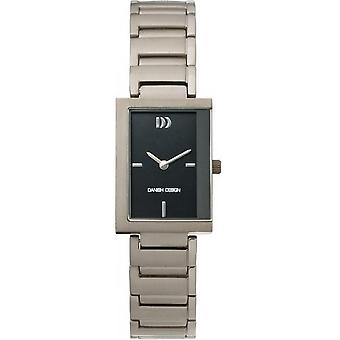 Design dinamarquês titânio IV62Q776 Mens watch
