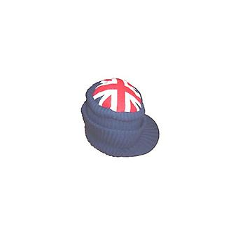 Union Jack Wear Union Jack Peaked Knitted Beanie Hat
