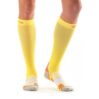 Skin Essentials women's compression socks limoncello/pomelo ZB99589339212
