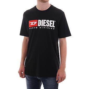 Diesel Just Division T Shirt With Logo