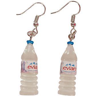 Schmuck und Ohrringe Wasserflaschen krönt