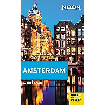 Amsterdam - première édition par Audrey Sykes - 9781631212352 livre de la lune