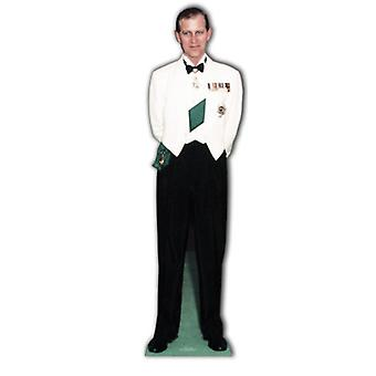 Prins Filip (hertog van Endinburgh) - Lifesize karton gestanst / Standee (diamanten jubileum 2012)