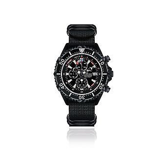 CHRIS BENZ - Diver watch - DEPTHMETER CHRONOGRAPH 300M BLACK EDITION - CB-C300-LE-NBSS