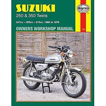 Haynes Suzuki 250 en 350 Twins Owners Workshop Manual, 68-78