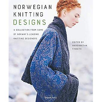 Norsk Strik design: En samling af nogle af Norges førende strikning designere
