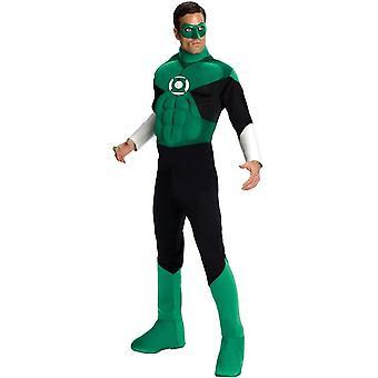 Groene lantaarn volwassen kostuum