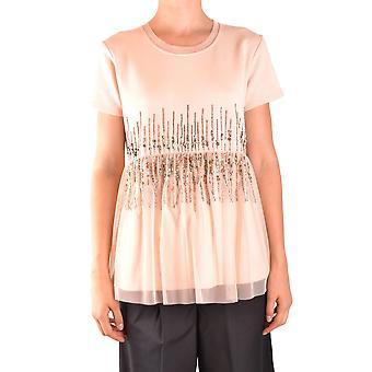 Twin-set Ezbc060137 Naiset's Pink Cotton Pusero