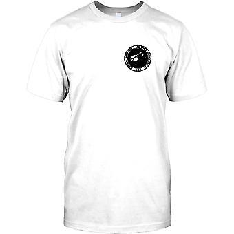National Aeronautics Space Administration - NASA brystet Logo Herre T-shirt