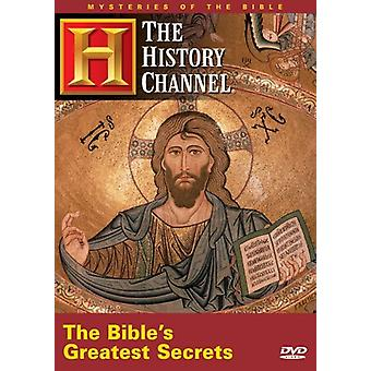 Importer des bibles plus grands Secrets [DVD] é.-u.