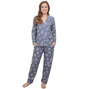 Fifi Grey Floral pyjama Pyjama Top Cyberjammies 3861 féminines