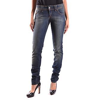 John Galliano Ezbc164040 Women's Blue Denim Jeans