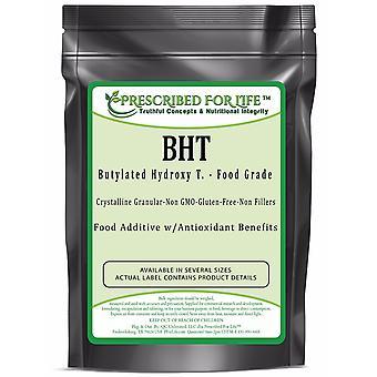 BHT-Butyylated Hydroxy T. Crystalline Granular Powder-US Food Grade Anti-Oxidant