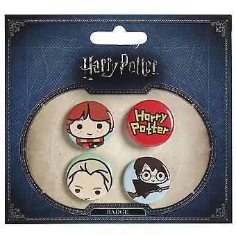Harry Potter Chibi Button emblem (stil 3)