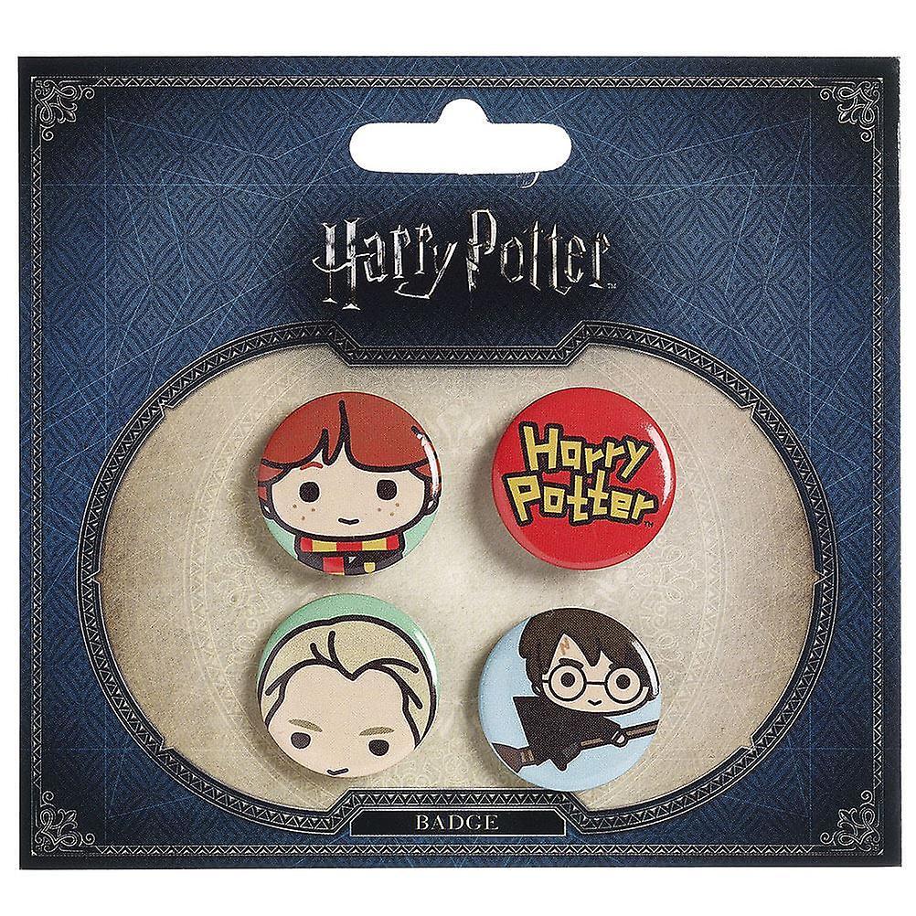 Harry Potter Chibi Button Badges (Style 3)