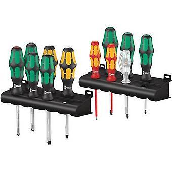 Wera Kraftform XXL TX Workshop Screwdriver set 12-piece Slot, Phillips, Pozidriv, TORX socket