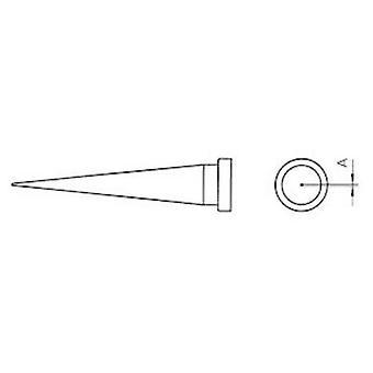 Punta de soldadura Weller LT-1L Largo, cónico Tamaño de la punta 0.2 mm Contenido 1 ud(s)