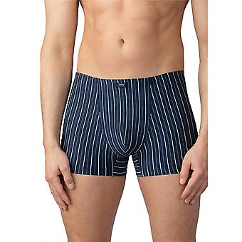 Mey 16621-668 Men's Taby Yacht Blue Striped Fitted Boxer