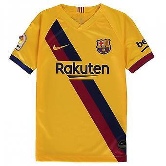2019-2020 Barcelona Away Nike shirt (børn)