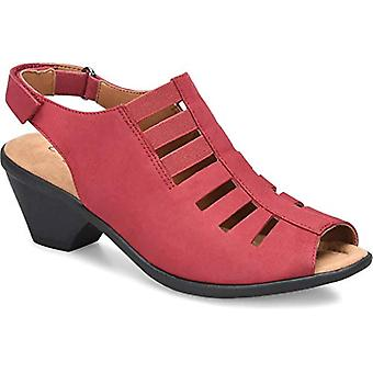 Comfortiva Women's Faye Red 10 2A (N) US