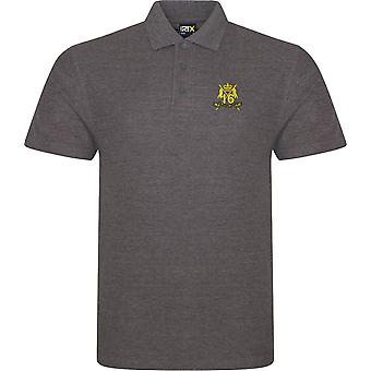 16th 5th Queens Royal Lancers-licenseret British Army broderet RTX Polo