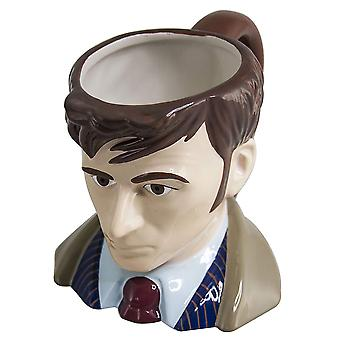 Doctor Who Tenth Doctor Toby 3D Mug