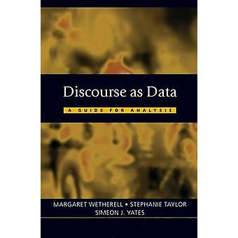 Discourse as Data by Stephanie Taylor