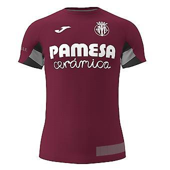 2019-2020 Villarreal Joma Training Shirt (Maroon)