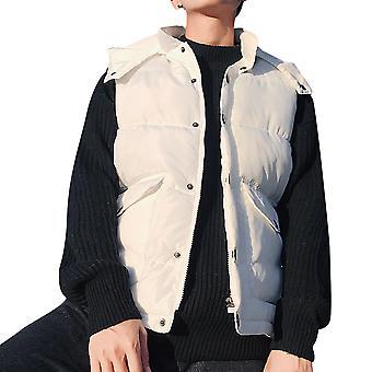 Allthemen Men's Padded Waistcoat Big Pockets Autumn Warm Padded Vest