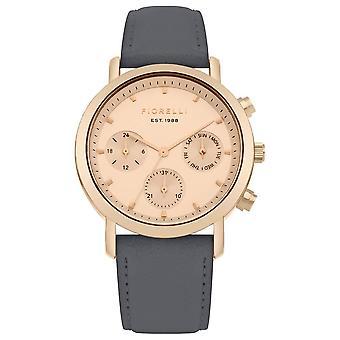 Fiorelli Ladies Watch Gold Bracelet White Dial FO029ERG