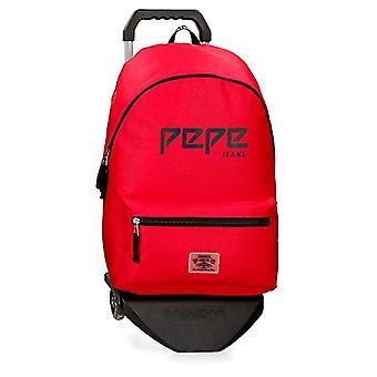 Pepe Jeans Osset Rucksack - 42 cm - 22,79 Liter - Rot (Rojo)