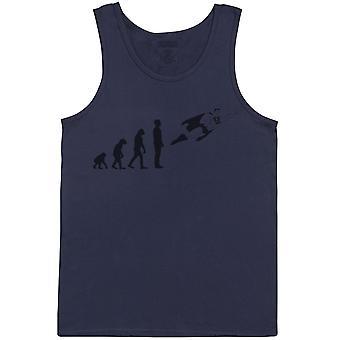 Evolution To Super Man - Mens Vest