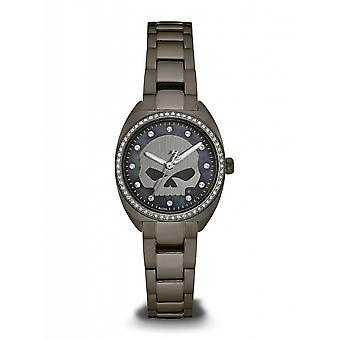 Harley Davidson 78L124 Women's Stone Set Wristwatch