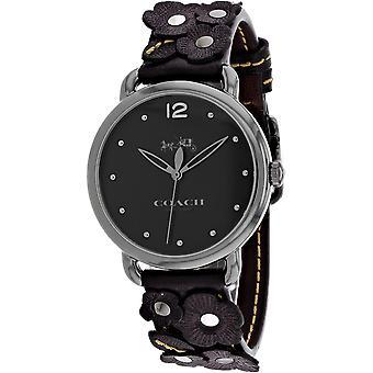 Coach Women-apos;s Delancey Black Dial Watch - 14502745