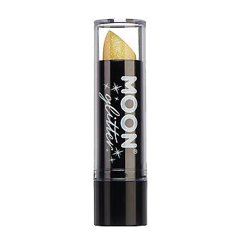 Iridescent Glitter Lipstick by Moon Glitter - 5g - Yellow