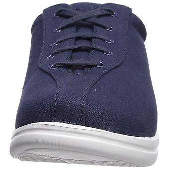 Apex Women-apos;s Women-apos;s Ellen - Canvas - Navy Shoe, Navy, 5.5 XW US