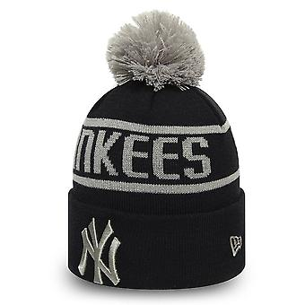 New Era Mlb New York Yankees Essential Bobble Knit